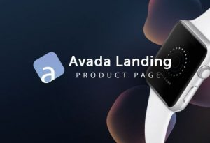 Avada Landing Product